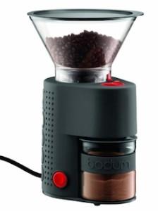 Bodum Bistro Electric Burr Coffee Grinder, Black - small