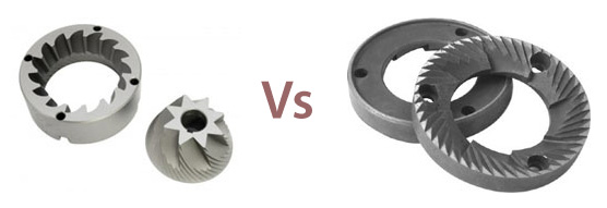 conical burrs vs flat burrs