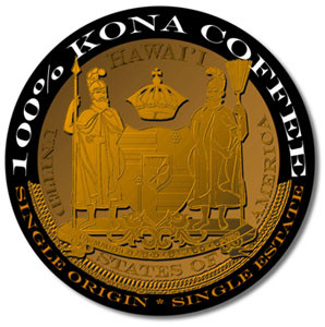 Kona coffee crest