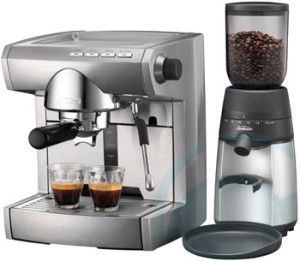 Coffee Maker And Grinder Together