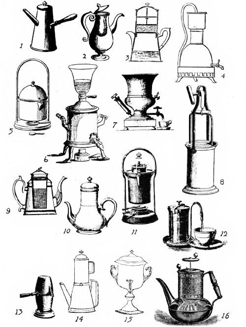 early coffee making devices