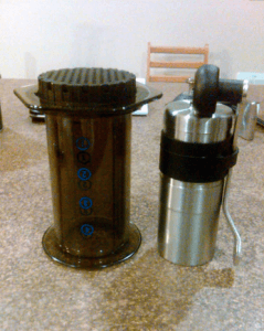 porlex mini and aeropress
