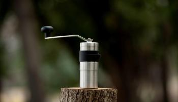 porlex mini camping coffee grinder