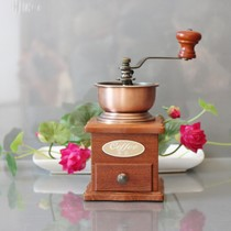 rosewood manual coffee grinder