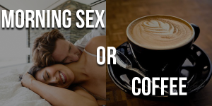 Coffee and sex