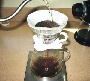 coarse grind coffee