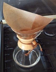 grinding for chemex