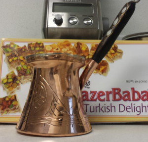 copperbull thick solid turkish coffee pot