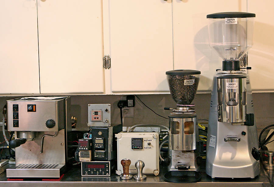 Mazzer Robur coffee grinder