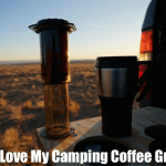 Why I Love My Portable Camping Coffee Grinder, Coffee Pot, & Aeropress