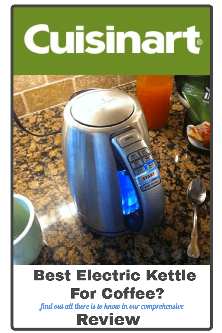 What's The Best Electric Kettle For Coffee?