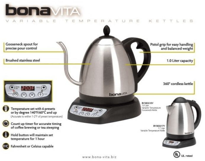 best electric coffee kettle for french press