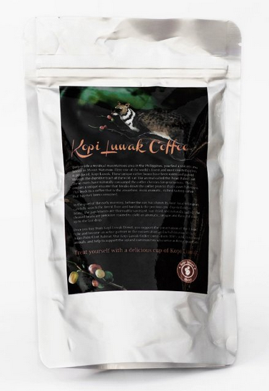 wild kopi luwak coffee natural organic
