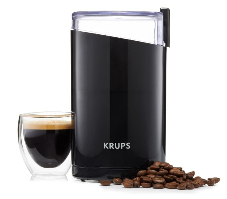 KRUPS F203 Electric Spice and Coffee Grinder with Stainless Steel Blades 5 French Press Stainless Steel Coffee Makers
