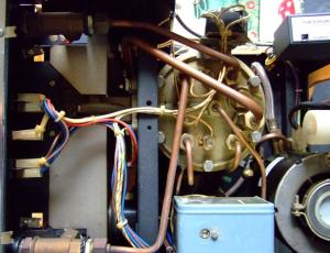 inside rancilio machine