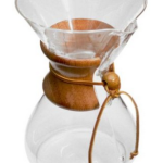 BPA Free Chemex 10-Cup Classic Series Glass Coffee Maker 3