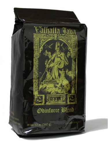 Valhalla Java Whole Bean Coffee back of bag
