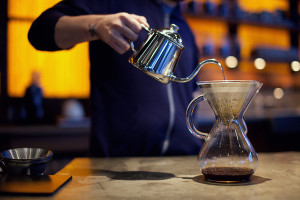 chemex coffee maker glass pour over solution