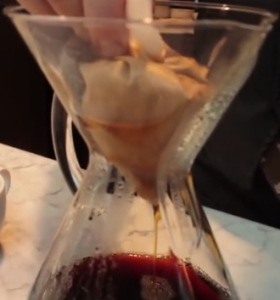 remove filter from chemex when finished brewing
