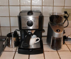 review ec155 15 bar pump espresso and cappuccino maker