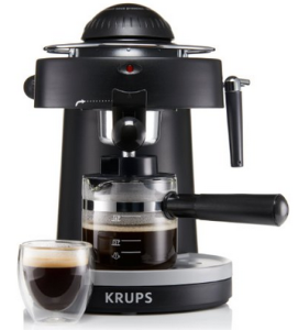 review KRUPS XP1000 Steam Espresso Machine with Frothing Nozzle for Cappuccino
