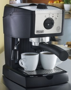 delonghi ec155 manual 15 bar pump espresso maker - Delonghi Espresso Machine