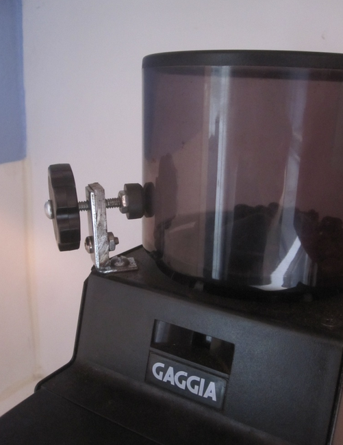 gaggia MDF grinder review