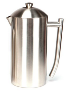 Frieling Brushed 18:10 Stainless Steel French Press, 36-Ounce