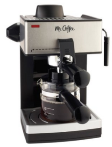 Mr. Coffee ECM160 4-Cup Steam Espresso Machine 2
