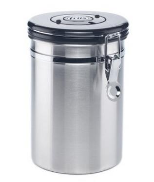 friis stainless steel coffee vault