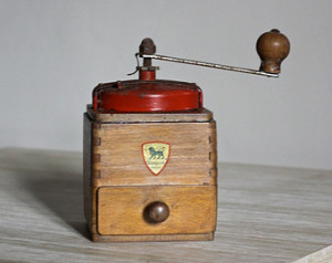 peugeot coffee mill antique