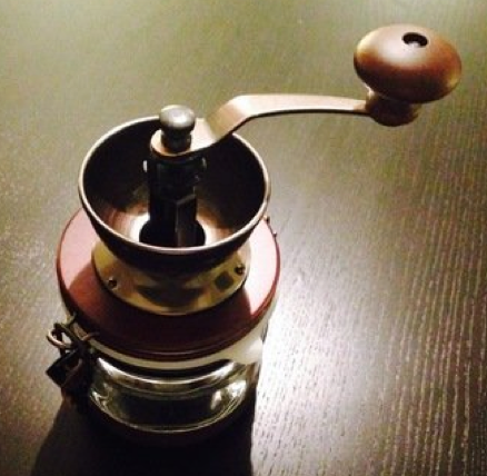 "Hario ""Canister"" Ceramic Coffee Mill"