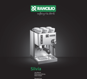Rancilio-Silvia-Users-Manual