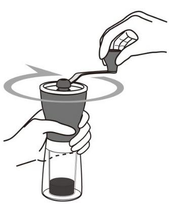 hario mini slim coffee grinder review