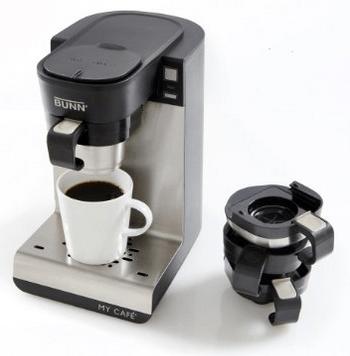 best pod coffee maker 2016 BUNN MCU