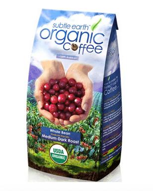 CAFE DON PABLO GOURMET COFFEE MEDIUM-DARK ROAST WHOLE BEAN, SUBTLE EARTH ORGANIC