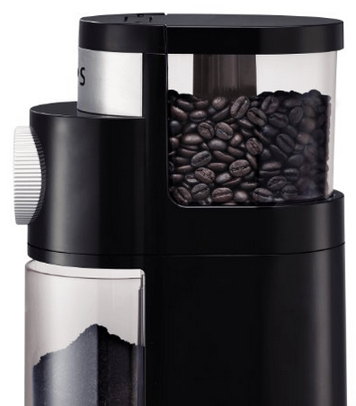 KRUPS GX5000 Professional Electric Coffee Burr Grinder with Grind Size and Cup Selection, 8-Ounce, Black 1