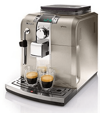 Review Saeco Syntia Stainless Steel Espresso Machine by Philips