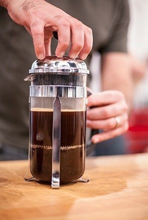 french press cold coffee