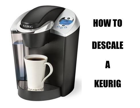 how to descale a keurig rh knowyourgrinder com Keurig B40 Disassembly Keurig B40 Disassembly