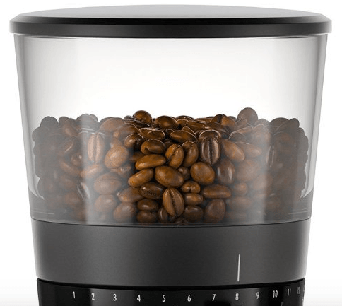 burr grinder with scale