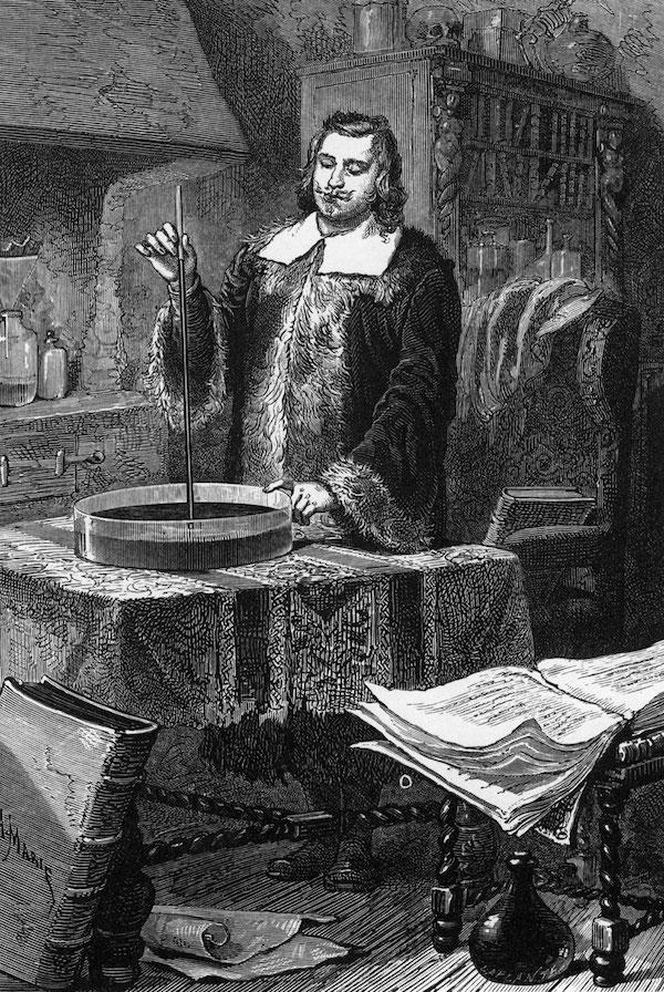 Evangelista-Torricelli-physicist-Italian-mercury-barometer
