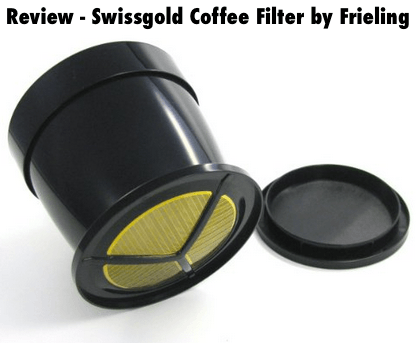 Frieling Coffee for One 23 Karat Gold Plated Coffee Filter