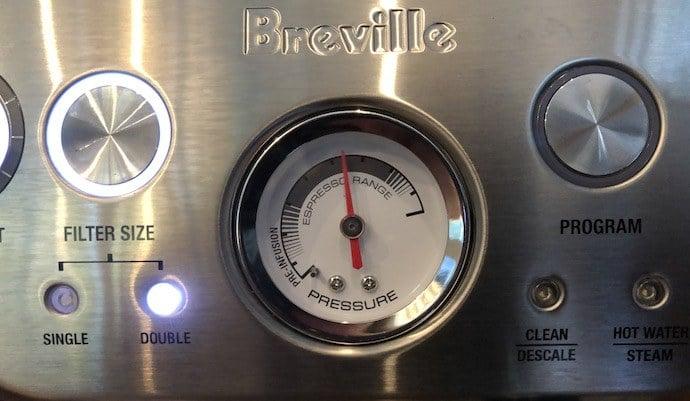 espresso pressure gauge