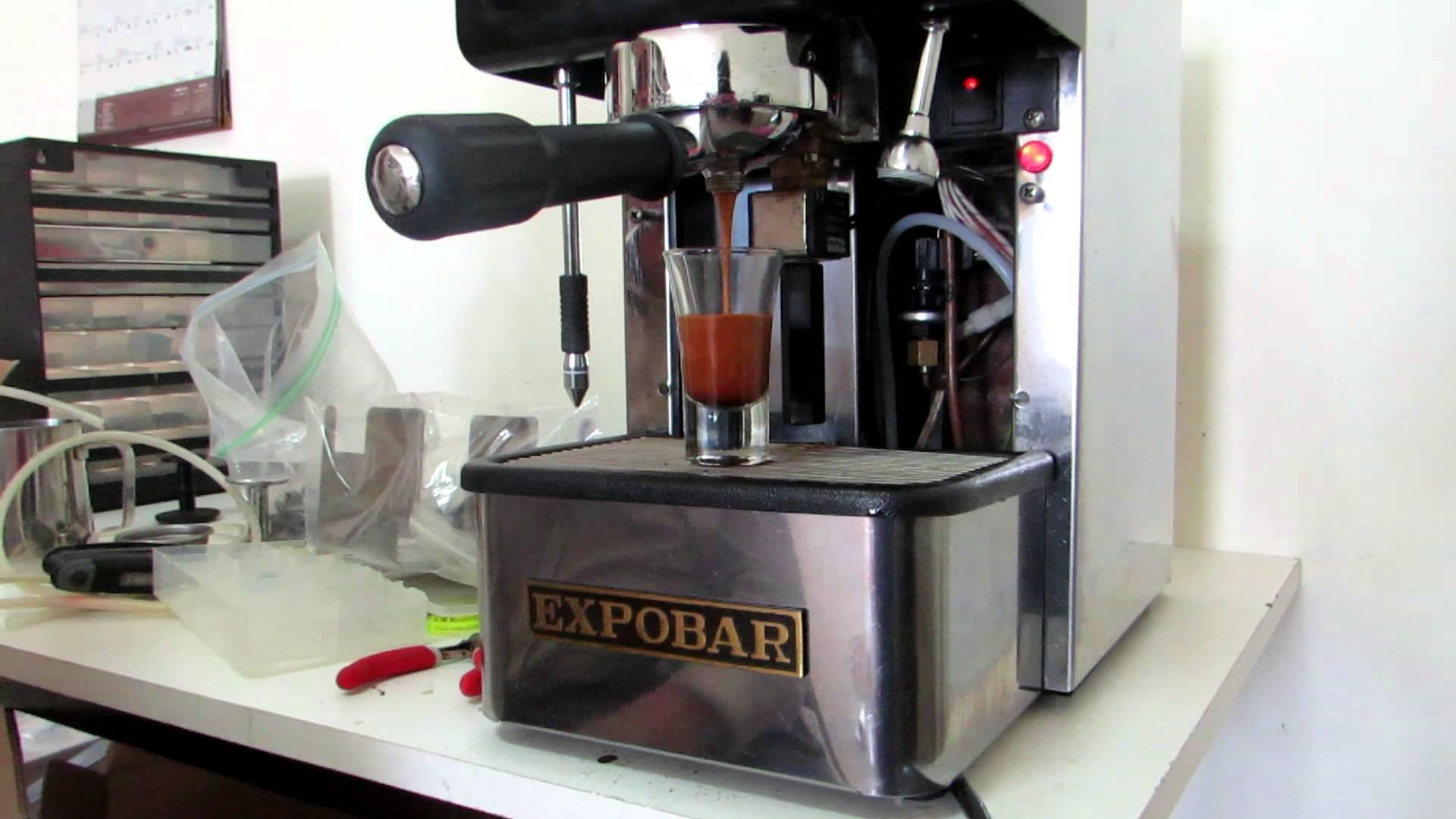 expobar espresso machine