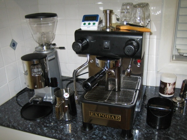 expobar office pulser espresso machine