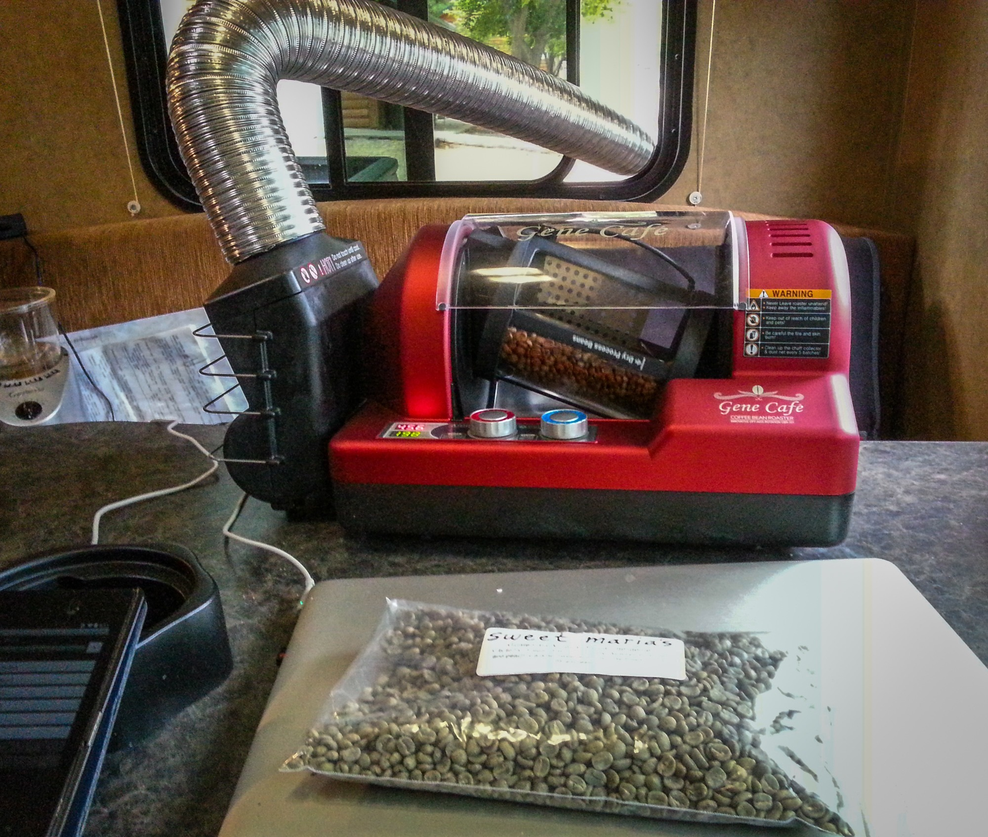gene cafe roaster