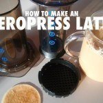 how to make an aeropress latte