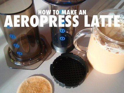 how to make an aeropress latte