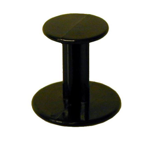 plastic black coffee tamper